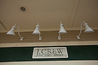 A J. Crew Factory store is pictured at the Settlers' Green Outlet Village in North Conway, New Hampshire Thursday June 13, 2013.
