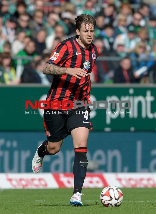 02.05.2015, Weserstadion, Bremen, GER, 1.FBL, Werder Bremen vs Eintracht Frankfurt, im Bild Marco Russ (Frankfurt #4)<br /> <br /> Foto &copy; nordphoto / Frisch