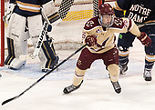 Julius Mattila (BC - 26) - The Boston College Eagles defeated the University of Notre Dame Fighting Irish 6-4 (EN) on Saturday, January 28, 2017, at Kelley Rink in Conte Forum in Chestnut Hill, Massachusetts.The Boston College Eagles defeated the University of Notre Dame Fighting Irish 6-4 (EN) on Saturday, January 28, 2017, at Kelley Rink in Conte Forum in Chestnut Hill, Massachusetts.