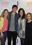 Felicia Finley - Corey Cott - Lindsay Mendez - Carol Kane at the 27th Annual Broadway Flea Market & Grand Auction to benefit Broadway Cares/Equity Fights Aids in Shubert Alley, New York City, New York.  (Photo by Sue Coflin/Max Photos)