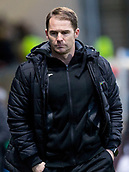 2nd December 2017, Firhill Stadium, Glasgow, Scotland; Scottish Premiership football, Partick Thistle versus Hibernian; dejection for Alan Archibald (Partick Thistle Manager)