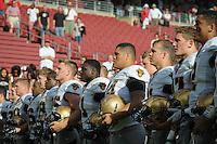 Stanford, CA, September 13, 2014<br /> Stanford Football vs. Army at Stanford Stadium. Stanford won 35-0.