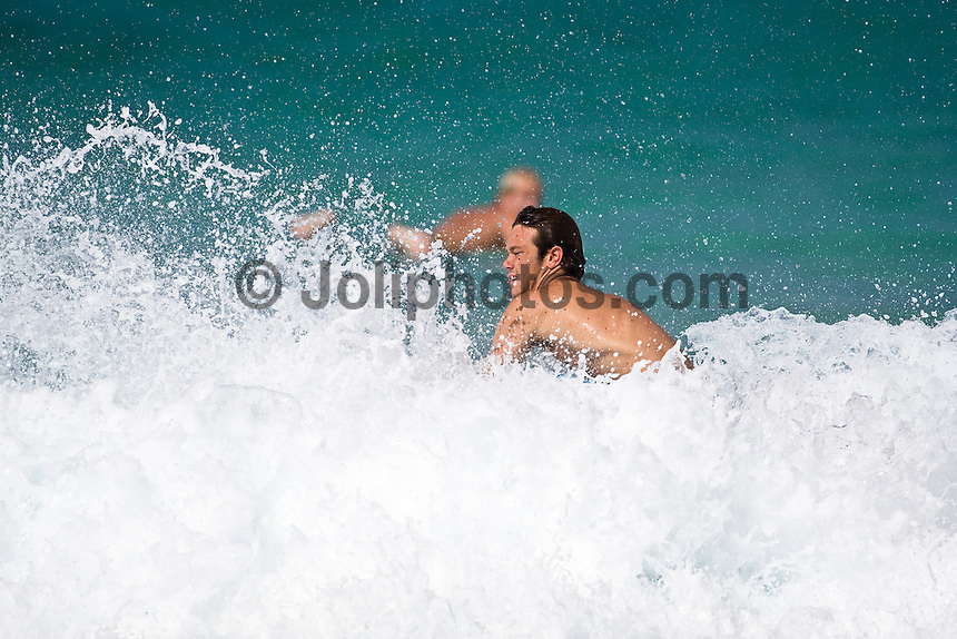 JORDY SMITH (ZAF)  surfing at Off The Wall-Backdoor, North Shore of Oahu, Hawaii. Photo: joliphotos.com