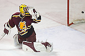 Derek MacIntyre - The Ferris State Bulldogs defeated the University of Denver Pioneers 3-2 in the Denver Cup consolation game on Saturday, December 31, 2005, at Magness Arena in Denver, Colorado.