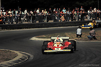 HEUSDEN-ZOLDER - MAY 16: Clay Regazzoni drives the Ferrari 312T2 025/Ferrari 015 during the Grand Prix of Belgium at Circuit Zolder near Heusden-Zolder, Belgium.