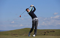 Niall Powell during Round Two of the West of England Championship 2016, at Royal North Devon Golf Club, Westward Ho!, Devon  23/04/2016. Picture: Golffile | David Lloyd<br /> <br /> All photos usage must carry mandatory copyright credit (&copy; Golffile | David Lloyd)
