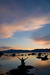 Sunset over Lake Tahoe...Image is model released