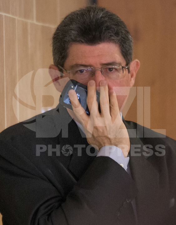 BRASILIA, DF, 02.10.2015 - LEVY-REFORMA -  O ministro da Fazenda, Joaquim Levy, durante declaração sobre a  reforma administrativa do<br />