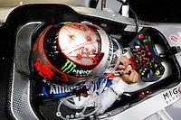 SPA FRANCORCHAMPS, BELGICA, 31 AGOSTO 2012  - F1 - GP DA BELGICA - O piloto alemao Michael Schumacher da equipe Mercedes GP durante segundo dia de treinos livres para o GP da Belgica que acontece no proximo domingo. (FOTO: PIXATHLON / BRAZIL PHOTO PRESS).