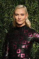 NEW YORK, NY - NOVEMBER 6: Karlie Kloss at the 14th Annual CFDA Vogue Fashion Fund Gala at Weylin in Brooklyn, New York City on November 6, 2017. <br /> CAP/MPI/JP<br /> &copy;JP/MPI/Capital Pictures