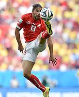 FUSSBALL WM 2014 VORRUNDE  Schweiz - Ecuador