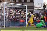 Arsenal's livier Giroud scoring his sides second goal<br /> <br /> Barclays Premier League - Crystal Palace  vs Arsenal  - Selhurst Park - England - 21st February 2015 - Picture David Klein/Sportimage