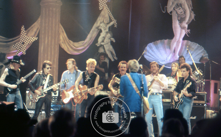 Johnny Winter, Link Wray, David Gilmour, Brian Setzer, Steve Cropper, Neal Schon, Dave Edmunds, Dickey Betts