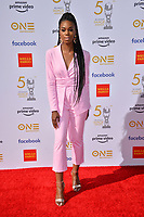 LOS ANGELES, CA. March 30, 2019: Stacy Ike at the 50th NAACP Image Awards.<br /> Picture: Paul Smith/Featureflash