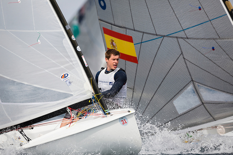 20140401, Palma de Mallorca, Spain: SOFIA TROPHY 2014 - 850 sailors from 50 countries compete at the ISAF Sailing World Cup event. Finn - USA21 - Gordon Lamphere. Photo: Mick Anderson/SAILINGPIX.