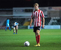 Lincoln City U18's Jon Smith<br /> <br /> Photographer Andrew Vaughan/CameraSport<br /> <br /> The FA Youth Cup Second Round - Lincoln City U18 v South Shields U18 - Tuesday 13th November 2018 - Sincil Bank - Lincoln<br />  <br /> World Copyright © 2018 CameraSport. All rights reserved. 43 Linden Ave. Countesthorpe. Leicester. England. LE8 5PG - Tel: +44 (0) 116 277 4147 - admin@camerasport.com - www.camerasport.com