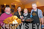 Paddy Barry, Sandra Lynch Garveys, Melanie Harty and Thomas Ashe pictured at Food Fair in aid of the Spa/Fenit Hospice, in Ballyroe Heights Hotel on Friday evening.