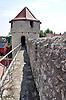 Blick von der Fleckenmauer auf den Obertorturm in Flörsheim-Dalsheim