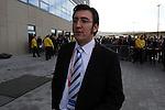 Sinsheim 24.01.2009, 1.Fu&szlig;ball Bundesliga Stadioner&ouml;ffnung bei 1899 TSG Hoffenheim in der Rhein-Neckar Arena, Hoffenheims Pressesprecher Markus Sieger<br /> <br /> Foto &copy; Rhein-Neckar-Picture *** Foto ist honorarpflichtig! *** Auf Anfrage in h&ouml;herer Qualit&auml;t/Aufl&ouml;sung. Belegexemplar erbeten.