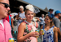 SARATOGA SPRINGS, NY - AUGUST 26: Scenes from Travers Stakes day at Saratoga Race Course on August 26, 2017 in Saratoga Springs, New York. (Photo by Scott Serio/Eclipse Sportswire/Getty Images)