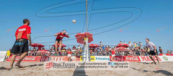 XVII Open Valencia de Futvoley.<br /> Semifinales y Final.<br /> Playa de Las Arenas - Valencia (España).<br /> 21 de julio de 2013.