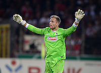 FUSSBALL   DFB POKAL 2. RUNDE   SAISON 2013/2014 SC Freiburg - VfB Stuttgart      25.09.2013 Torwart Oliver Baumann (SC Freiburg)
