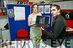 HORIZON EXHIBIT End of Year Creative Media exhibition at the Education Centre IT Tralee on Thursday. Pictured Katie O'Brien and Conor McCarthy with their project 'Spring-Heeled Jack The Retirement Years'