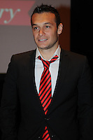 D.C. United forward Hamid Salihi,at the United Kickoff luncheon, at the Marriott hotel in Washington DC, March 5, 2012.