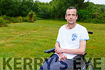 Brendan Rigter Sneem who suffers from Multiple Sclerosis