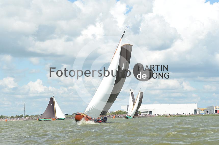 ZEILSPORT: Lemmer: 08-08-2019, SKS Skûtsjesilen, ©foto Martin de Jong