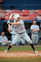 Lehigh Mountain Hawks left fielder Anthony Rinaldi (24) at bat during a game against the Dartmouth Big Green on March 20, 2016 at Chain of Lakes Stadium in Winter Haven, Florida.  Dartmouth defeated Lehigh 5-4.  (Mike Janes/Four Seam Images)
