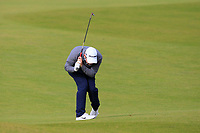 Robert Macintyre (SCO) on the 4th during Round 2 of the Alfred Dunhill Links Championship 2019 at Kingbarns Golf CLub, Fife, Scotland. 27/09/2019.<br /> Picture Thos Caffrey / Golffile.ie<br /> <br /> All photo usage must carry mandatory copyright credit (© Golffile | Thos Caffrey)