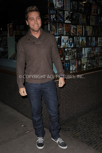 WWW.ACEPIXS.COM . . . . . .January 18, 2012...New York City....Lance Bass attends the Cinema Society  screening of 'Haywire' at Landmark Sunshine Cinema on January 18, 2012 in New York City. ....Please byline: KRISTIN CALLAHAN - ACEPIXS.COM.. . . . . . ..Ace Pictures, Inc: ..tel: (212) 243 8787 or (646) 769 0430..e-mail: info@acepixs.com..web: http://www.acepixs.com .