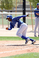 Elian Herrera, Los Angeles Dodgers 2010 minor league spring training..Photo by:  Bill Mitchell/Four Seam Images.