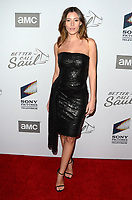 """LOS ANGELES - FEB 5:  Alejandra Guilmant at the """"Better Call Saul"""" Season 5 Premiere at the Arclight Hollywood on February 5, 2020 in Los Angeles, CA"""