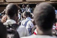 Grève des étudiants à l'Université Cheikh-Anta-Diop. Ils militent pour l'abolition de la sélection à l'entrée en master.