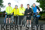 Enjoying the Fenit Lifeboat charity fun cycle on Saturday were Cahal Dunton, Michael Hillard, Kevin Deedy,  Cian O'Donnell, Lea Sugrue