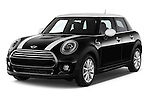 2015 MINI Mini Cooper 5 Door Hatchback 2WD Angular Front stock photos of front three quarter view