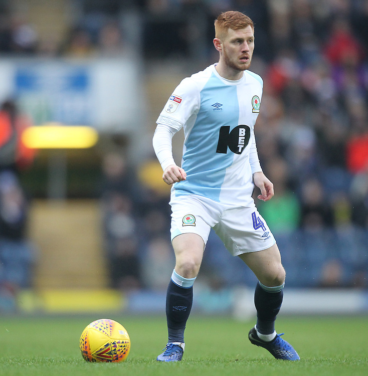 Blackburn Rovers Harrison Reed<br /> <br /> Photographer Mick Walker/CameraSport<br /> <br /> The EFL Sky Bet Championship - Blackburn Rovers v Ipswich Town - Saturday 19 January 2019 - Ewood Park - Blackburn<br /> <br /> World Copyright &copy; 2019 CameraSport. All rights reserved. 43 Linden Ave. Countesthorpe. Leicester. England. LE8 5PG - Tel: +44 (0) 116 277 4147 - admin@camerasport.com - www.camerasport.com