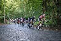 Jelle Vanendert (BEL/Lotto-Soudal) racing the cobbles<br /> <br /> Brussels Cycling Classic 2016