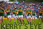 Johnny Buckley, Anthony Maher, David Moran, Bryan Sheehan, Brendan Kealy, and Jonathan Lyne Kerry players before the Munster Final at Fitzgerald Stadium, Killarney on Saturday evening.