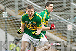 James O'Donoghue, Kerry scores his first of three goals against Tyrone in the fourth round of the National Football league at Fitzgerald Stadium, Killarney on Sunday.