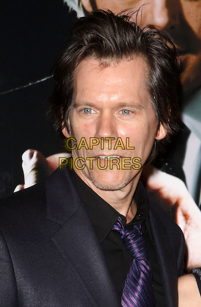 "KEVIN BACON .At the premiere of ""Frost/Nixon"" held at the Ziegfeld Theater, New York, NY, USA, 17th November 2008..Frost Nixon portrait headshot purple tie .CAP/ADM/PZ.©Paul Zimmerman/Admedia/Capital Pictures"