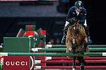 Julien Epaillard of France riding Cristallo A LM in action at the Gucci Gold Cup during the Longines Hong Kong Masters 2015 at the AsiaWorld Expo on 14 February 2015 in Hong Kong, China. Photo by Xaume Olleros / Power Sport Images