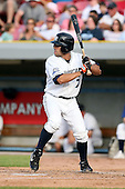 June 14th 2008:  Roger Tomas of the West Michigan Whitecaps, Class-A affiliate of the Detroit Tigers, during a game at Fifth Third Ballpark in Comstock Park, MI.  Photo by:  Mike Janes/Four Seam Images