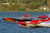 "Joe Sovie, E-61 ""Crazy Cajun"" and Tom English, E-75, ""The Investigator"" (5 Litre class hydroplane(s)"