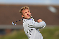 Joseph Bryce (Bathgate) on the 5th tee during Round 1 of the The Amateur Championship 2019 at The Island Golf Club, Co. Dublin on Monday 17th June 2019.<br /> Picture:  Thos Caffrey / Golffile<br /> <br /> All photo usage must carry mandatory copyright credit (© Golffile | Thos Caffrey)