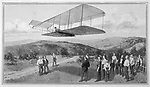 Orville and Wilbur Wright achieve the first powered flight at Kitty Hawk North Carolina     Date: 17 December 1903     Source: The Graphic 6 February 1904 page 164
