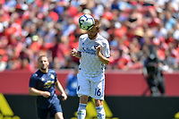 Santa Clara, CA - Sunday July 22, 2018: Chris Wehan during a friendly match between the San Jose Earthquakes and Manchester United FC at Levi's Stadium.