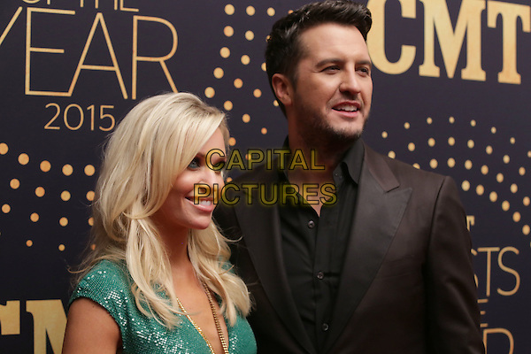 02 December 2015 - Nashville, Tennessee - Luke Bryan and Caroline Bryan. 2015 &quot;CMT Artists of the Year&quot; held at Schermerhorn Symphony Center. <br /> CAP/ADM/BM<br /> &copy;BM/ADM/Capital Pictures